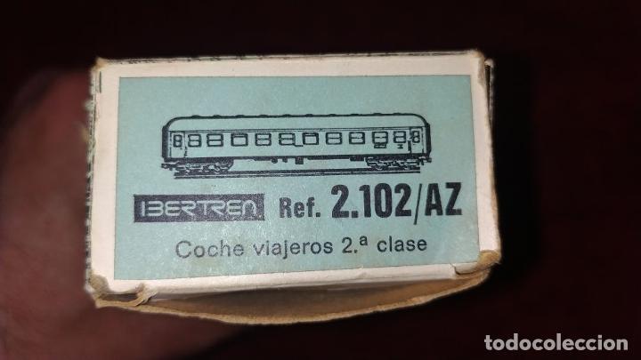 Trenes Escala: TREN ELECTRICO. IBERTREN 102. 3N. ADJUNTAMOS VAGON REF. 2.102/AZ. ESPAÑA. CIRCA 1970 - Foto 15 - 222335018