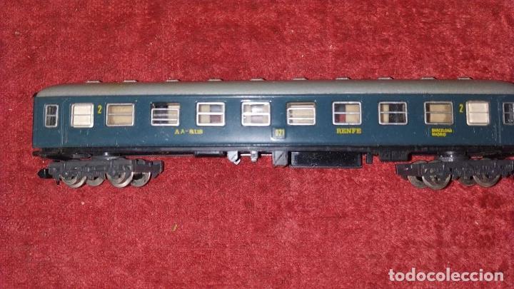 Trenes Escala: TREN ELECTRICO. IBERTREN 102. 3N. ADJUNTAMOS VAGON REF. 2.102/AZ. ESPAÑA. CIRCA 1970 - Foto 18 - 222335018