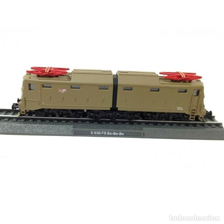 E 636 FS BO-BO-BO ESCALA N 1:160 FERROCARRIL LOCOMOTORA (Juguetes - Trenes Escala N - Otros Trenes Escala N)
