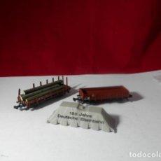 Treni in Scala: LOTE VAGONES ESCALA N DE MINITRIX. Lote 222822400