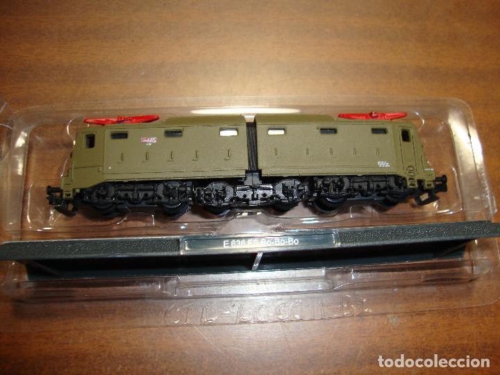 MAQUINA DE TREN E 636 FS BO-BO-BO ESCALA..N -- SIN FUNCION NUEVA PERFECTA (Juguetes - Trenes Escala N - Otros Trenes Escala N)