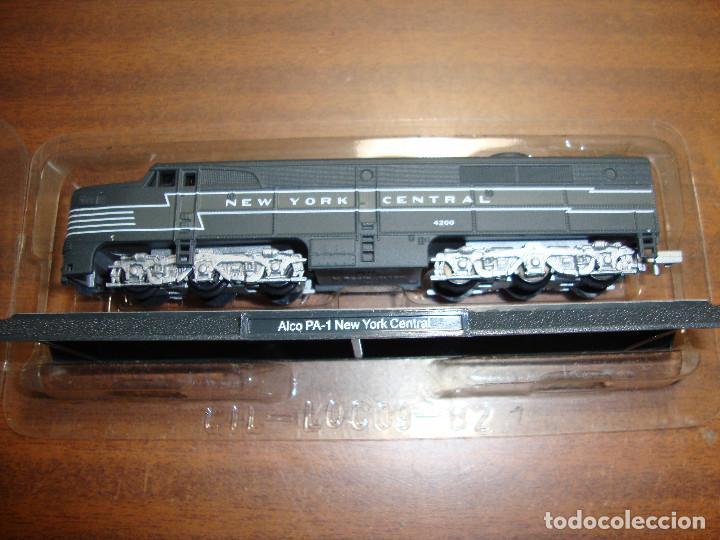 MAQUINA DE TREN ALCO PA-1 NEW YORK CENTRAL ESCALA..N -- SIN FUNCION NUEVA PERFECTA (Juguetes - Trenes Escala N - Otros Trenes Escala N)