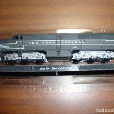 Trenes Escala: MAQUINA DE TREN ALCO PA-1 NEW YORK CENTRAL ESCALA..N -- SIN FUNCION NUEVA PERFECTA. Lote 227888550