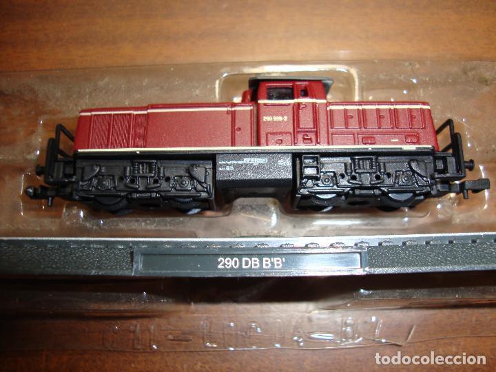 MAQUINA DE TREN 290 DB B B ESCALA..N -- SIN FUNCION NUEVA PERFECTA (Juguetes - Trenes Escala N - Otros Trenes Escala N)