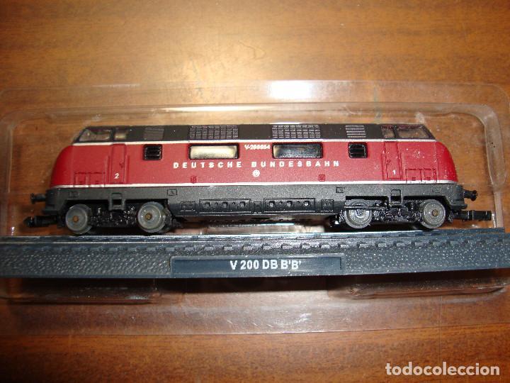 MAQUINA DE TREN V 200 DB B B BANCO ALEMAN ESCALA..N -- SIN FUNCION NUEVA PERFECTA (Juguetes - Trenes Escala N - Otros Trenes Escala N)