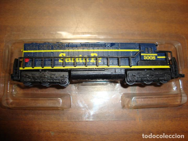 MAQUINA DE TREN SANTA FE 5008 ESCALA..N -- SIN FUNCION NUEVA PERFECTA (Juguetes - Trenes Escala N - Otros Trenes Escala N)