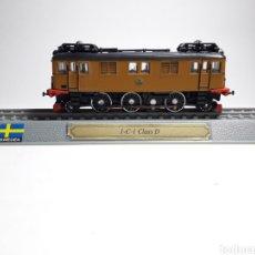 Trenes Escala: LOCOMOTORA SUECIA 1-C-1 CLASS D ESCALA N 1/160 DEL PRADO. Lote 288132228