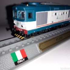 Comboios Escala: LOCOMOTORA ITALIA FS D345 ESCALA N 1/160 DEL PRADO. Lote 255487295
