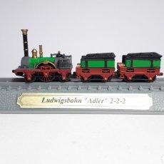 Trenes Escala: LOCOMOTORA ALEMANIA LUDWIGSBAHN ´¨ADLER¨¨ ESCALA N 1/160 DEL PRADO. Lote 288132168