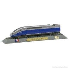 Comboios Escala: TGV DUPLEX 29000 SNCF 1:160 FERROCARRIL LOCOMOTORA ESCALA DELPRADO 006. Lote 232106250