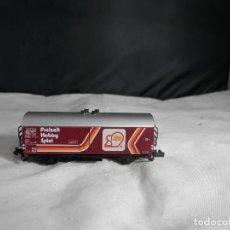 Trenes Escala: VAGÓN CERRADO ESCALA N DE MINITRIX. Lote 232994515