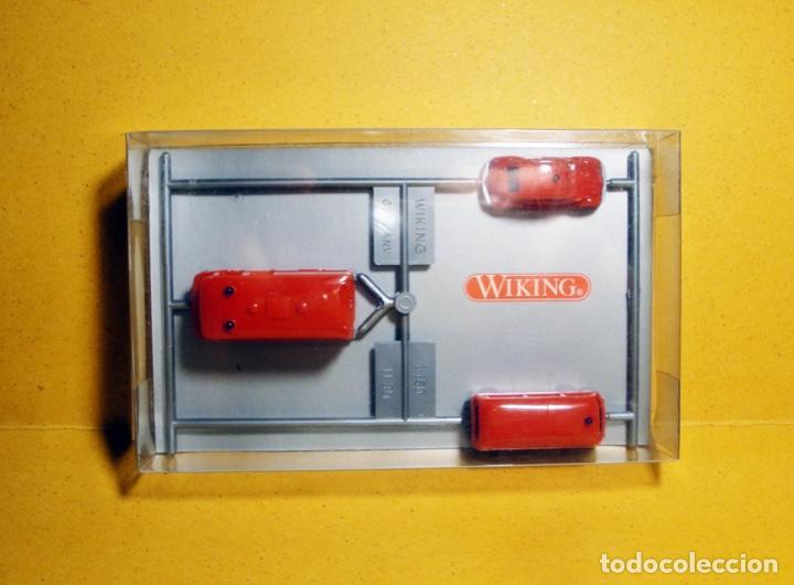 Trenes Escala: Conjunto de vehúclos de bomberos de Wiking - Foto 2 - 233776940