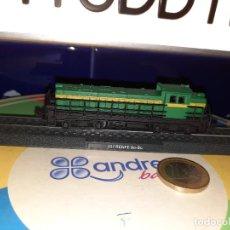 Trenes Escala: LOCOMOTORA ESTÁTICA,ESCALA N,RENFE BO-BO. Lote 235155565