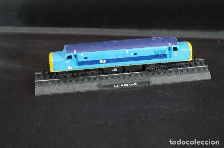 LOCOMOTORA L 21/34 GIF CO-CO ESTÁTICA ESCALA N (Juguetes - Trenes Escala N - Otros Trenes Escala N)