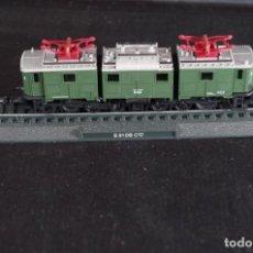 Trenes Escala: LOCOMOTORA E 91 DB C´C´DEUTSCHE REICHBAHM RENFE ESTÁTICA ESCALA N. Lote 237008975