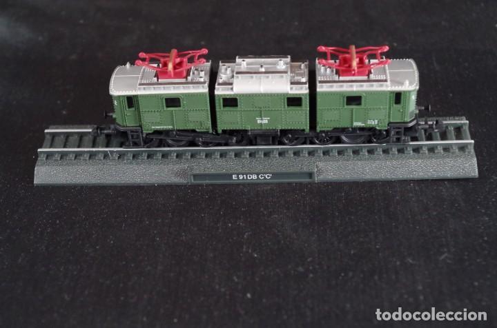 Trenes Escala: Locomotora E 91 DB C´C´Deutsche Reichbahm Renfe estática Escala N - Foto 2 - 237008975