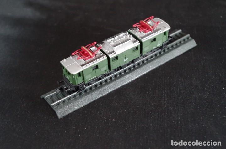 Trenes Escala: Locomotora E 91 DB C´C´Deutsche Reichbahm Renfe estática Escala N - Foto 4 - 237008975