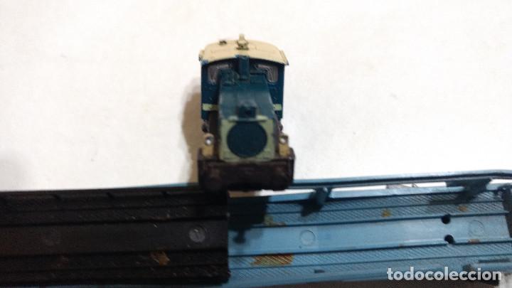 Trenes Escala: DESGUACE MAQUINA Y VAGON PORTACOCHES IBERTREN ESCALA N -BUEN PRECIO - Foto 6 - 239495835
