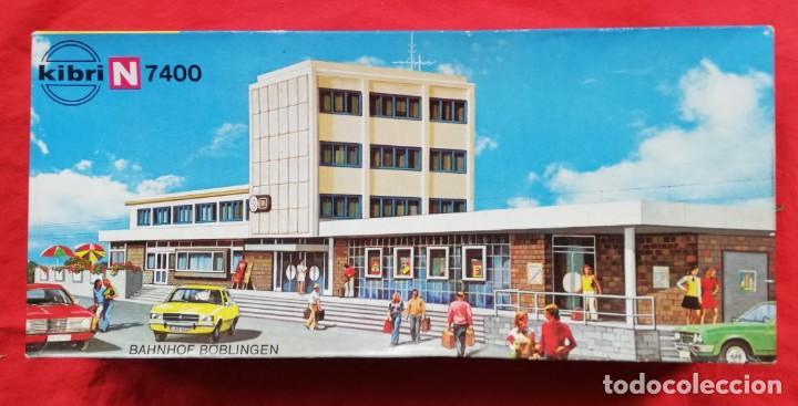 EDIFICIO ESTACIÓN BÖBLINGEN - KIBRI N B-7400 - 46 X 10,5 X 10 - PJRB (Juguetes - Trenes Escala N - Otros Trenes Escala N)