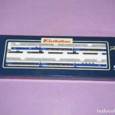 Trenes Escala: COMPOSICIÓN TALGO 200 PENDULAR RENFE ALTA VELOCIDAD 6 COCHES REF. 7202K EN ESCALA *N* DE ELECTROTREN. Lote 241481355