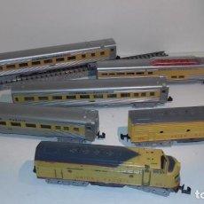Trenes Escala: MINITRIX N COMPOSICIÓN LOCOMOTORA 4 VAGONE -- L48-167 (CON COMPRA DE CINCO LOTES O MAS ENVÍO GRATIS). Lote 241755265