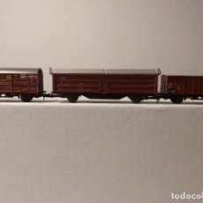 Trains Échelle: CONJUNTO DE VAGONES TRIX. Lote 241914380