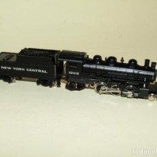 Trenes Escala: LOCOMOTORA A VAPOR CON TENDER NEW YORK CENTRAL EN ESCALA *N* DE BACHMANN. Lote 243653705