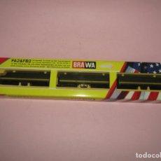 Trenes Escala: COMPOSICIÓN 3 LOCOMOTORAS DE LA CIA. AMERICANA MISSOURI PACIFIC EN ESCALA *N* FA2 & FB2 DE BRAWA. Lote 244180145