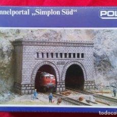 "Trains Échelle: TUNNELPORTAL ,,SIMPLON SÜD"" - POLA N 271 - DOBLE ENTRADA DE TUNEL, ALTURA 40 MM - PRECINTADO - PJRB. Lote 244718565"