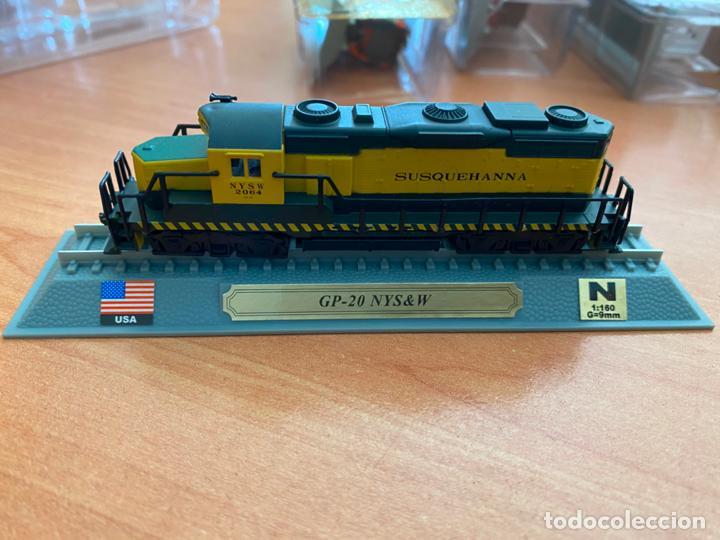 Trenes Escala: LOTE 13 TRENES MINIATURA DEL PRADO ESCALA N 1: 160 (J-4) - Foto 2 - 245007440