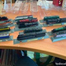 Trenes Escala: LOTE 13 TRENES MINIATURA DEL PRADO ESCALA N 1: 160 (J-4). Lote 245007440