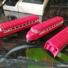 Trenes Escala: TREN DOBLE MAQUINA N DESCONOCIDA, SIN MARCA. Lote 248219480