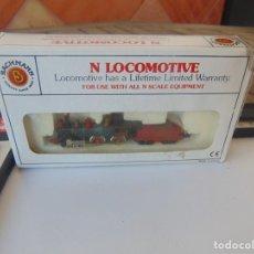 Trenes Escala: LOCOMOTORA DE TREN ,DE BACHMANN AMERICAN 4-4-0 UNION PACIFIC ESCALA N. Lote 249523585