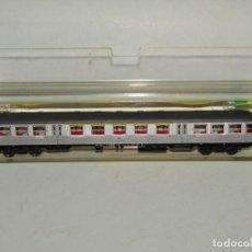 Trenes Escala: COCHE DE VIAJEROS 1ª Y 2ª CLASE DE LA DB EN ESCALA *N* REF. 13039 DE TRIX MINITRIX. Lote 251019720