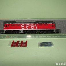 Comboios Escala: LOCOMOTORA ELÉCTRICA EF-81 EN ESC. *N* DE KATO. Lote 251887960