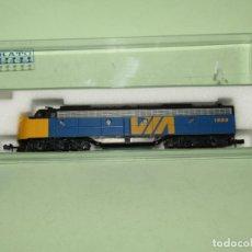 Trenes Escala: LOCOMOTORA DIESEL E8/9-A DE LA CIA. VIA EN ESC. *N* DE KATO. Lote 251889640