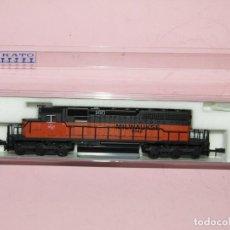 Treni in Scala: LOCOMOTORA DIESEL 160 TIPO SD40-2 EARLY DE LA CIA. AMERICANA MILWAUKEE ROAD EN ESCALA *N* DE KATO. Lote 252434370