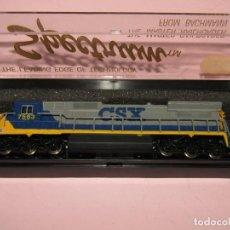 Trenes Escala: LOCOMOTORA DIESEL GE DASH 8-40C DE CIA. AMERICANA CSX ESCALA *N* SERIE SPECTRUM DE BACHMANN. Lote 252460285