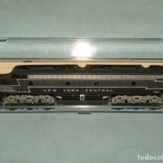 Trenes Escala: LOCOMOTORA DIESEL E8 DE LA CIA. AMERICANA NEW YORK CENTRAL ESCALA *N* DE LIFE-LIKE. Lote 253670360