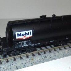 Trenes Escala: MINITRIX N CISTERNA 4 EJES MOBIL -- L49-052 (CON COMPRA DE 5 LOTES O MAS, ENVÍO GRATIS). Lote 257297470