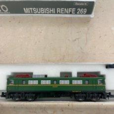 Trenes Escala: MITSUBISHI RENFE 269 ESCALA N. Lote 257598685