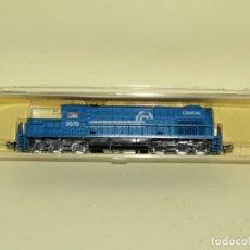 Trenes Escala: LOCOMOTORA DIESEL ALCO RSD-15 CIA AMERICANA CONRAIL CONSOLIDATED RAIL CORPORATION EN *N* MODEL POWER. Lote 258132865