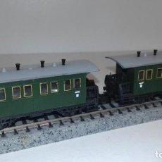 Trenes Escala: MINITRIX N 2 PASAJEROS CLÁSICO -- L49-156 (CON COMPRA DE 5 LOTES O MAS, ENVÍO GRATIS). Lote 261097990