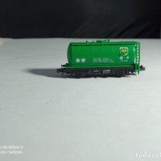 Trenes Escala: VAGÓN CISTERNA ESCALA N DE PECO. Lote 262000615