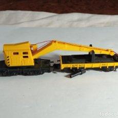Trenes Escala: GRUA ESCALA N DE MINITRIX. Lote 262453185