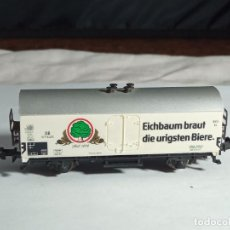 Trenes Escala: VAGÓN CERRADO ESCALA N DE MINITRIX. Lote 262455630