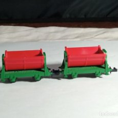 Trenes Escala: LOTE TOLVAS ESCALA N DE MINITRIX. Lote 262456735
