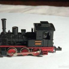 Trenes Escala: LOCOMOTORA VAPOR ESCALA N DE MINITRIX. Lote 262457040
