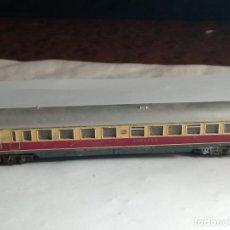 Trains Échelle: VAGÓN RESTAURANTE DE LA DB ESCALA N DE MINITRIX. Lote 262672525