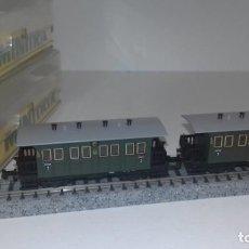 Trenes Escala: MINITRIX N PASAJEROS 3ª -- L47-009 (CON COMPRA DE 5 LOTES O MAS, ENVÍO GRATIS). Lote 223979002
